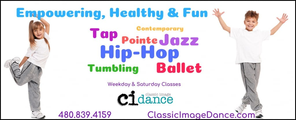 Weekday and Saturday dance classes banner